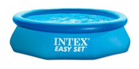 Alberca Con Aro Inflable Octagonal Easy Set 10 X30 Intex