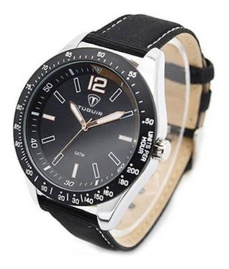 Relógio Masculino Tuguir Analógico 5030 Preto