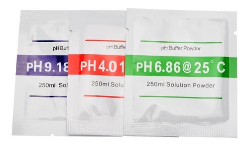 Par Sobres Ph  Calibración, Phmetro, Polvo Buffer