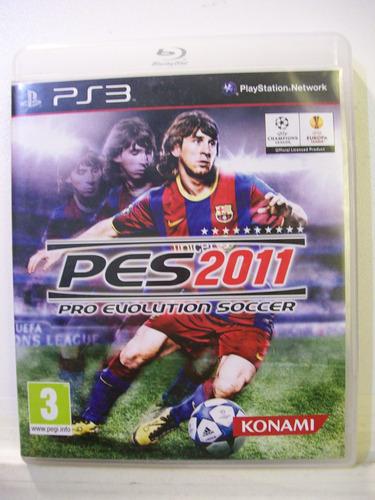 Pes 2011 - Pro Evolution Soccer, Jogo Ps3 Original Importado