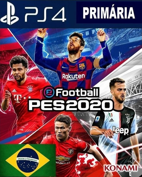 Pes 20 Ps4 Pes 2020 Ps4 - Psn Original 1 Primaria Português