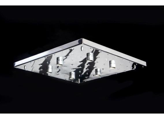 Base Para Montagem De Lustre De Cristal Em Inox 42x42