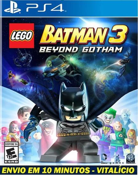 Lego Batman 3 Ps4 Digital Joga Pelo Usuário Que Enviamos