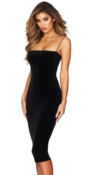 25c74e5ad4a6 Vestido Terciopelo - Vestidos de Mujer en Mercado Libre México