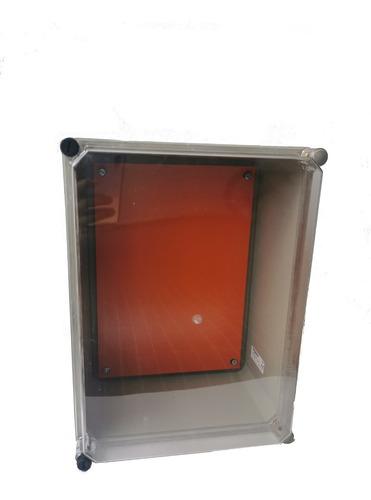Caja Cofre Tablero Eléctrico Intemperie Plástico 34x25x18
