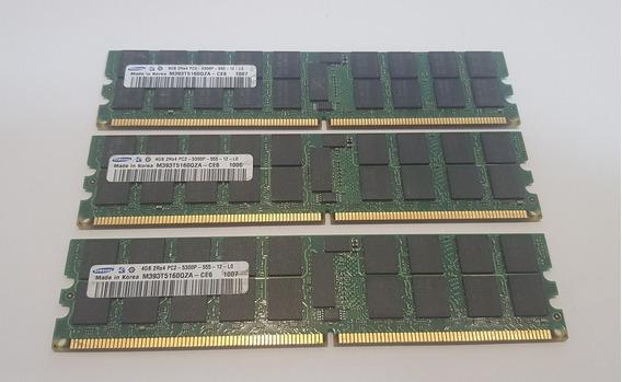 Kit 2 Memória Servidor 4 Gb Pc2-5300p Dell T300 / R300