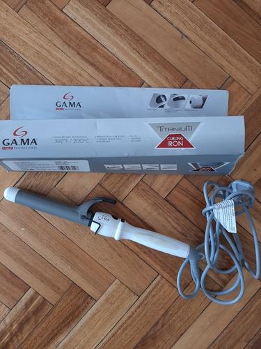 Buclera Rizadora Gamma Titanium Ondas Rulos Impecable