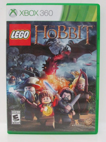 Lego The Hobbit Game Xbox 360 Original Completo Mídia Física