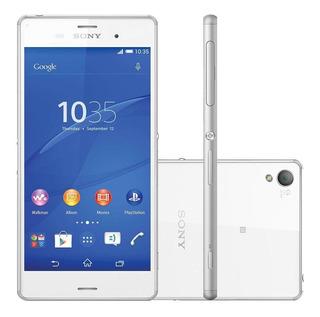 Smartphone Sony Xperia Z3 16gb Dual D6633 Tela 5.2 Vitrine