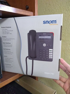 Ip Phone Snom 710 (1) + Ip-phone Edge-core Vp3302 (5) Set