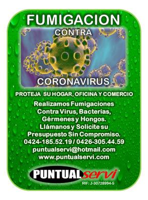 Compañía De Fumigación Contra Virus Bacterias Germanes