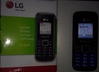 Celular Lg 2 Chip Lanterna Radio B 220
