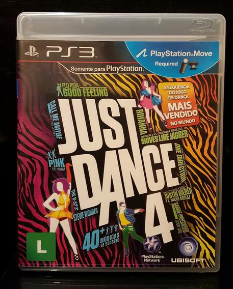 Jogo Just Dance 4 Ps3