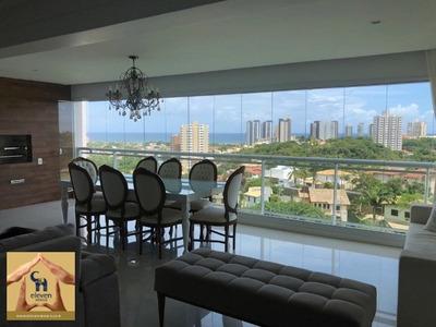 Apartamento Para Venda Patamares, Salvador 4 Dormitórios Sendo 3 Suítes, 2 Salas, 5 Banheiros, 3 Vagas 173,00 M² Útil R$ 1.300.000,00 , Condomínio: R$ 954 Iptu: R$ 2330 Porteira - Ap02463 - 337161