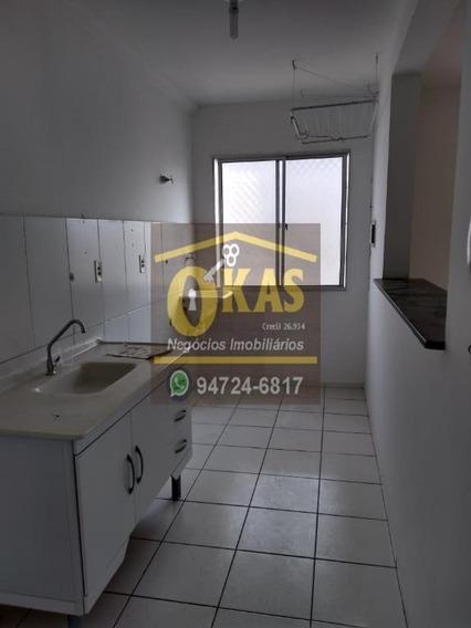 Apartamento Com 2 Dormitórios Para Alugar, 47 M² Por R$ 550,00/mês - Vila Urupês - Suzano/sp - Ap0392