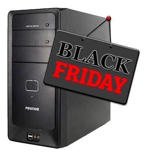 Pc Positivo D50 Intel 4gb Hd 500gb Black Friday