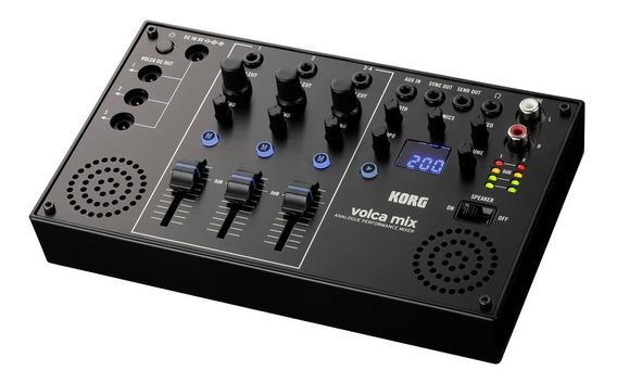 Mixer Analógico P/ Performance Korg Volca Mix - Até 3 Volcas