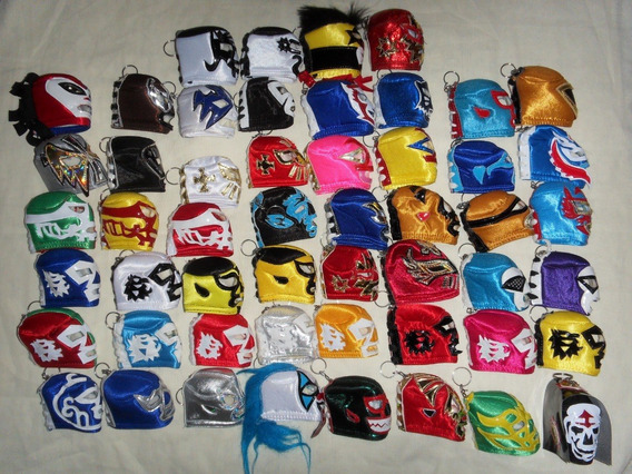 Lucha Libre Llaveros De Mascaras Varios Personajes X Pieza