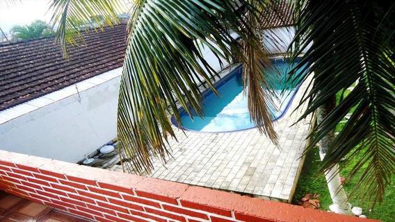 Casa Em Mirim, Praia Grande/sp De 134m² 4 Quartos À Venda Por R$ 700.000,00 - Ca169068