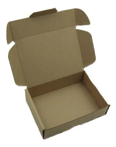 Caja Empaque Envíos Carton Microcorrugado 19x13x5cm, 25pzs