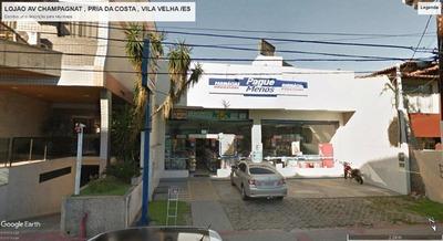Loja Em Praia Da Costa, Vila Velha/es De 300m² À Venda Por R$ 2.150.000,00 - Lo199842