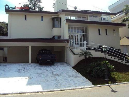 Casa Com 4 Dormitórios, 520 M² - Venda Por R$ 2.700.000,00 Ou Aluguel Por R$ 10.500,00/mês - Aldeia Da Serra - Barueri/sp - Ca0003