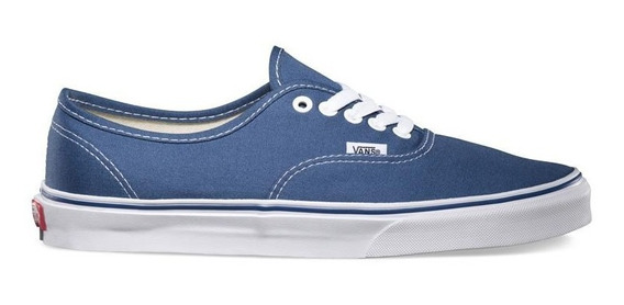 Zapatillas Vans Modelo Authentic Navy