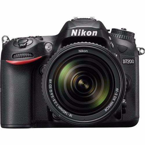Câmera Nikon D7200 Af-s 18-140mm, 24.2mp,