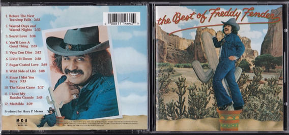 Freddy Fender Cd The Best Of Freddy Fender Mca Records 1996