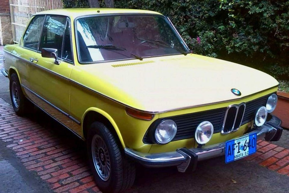 Bmw 2002 Coupe M/t 2.0 1974 2002