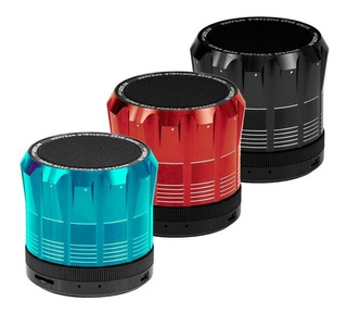 Parlantes Bluetooth Azul Atomic Argom Arg-uds