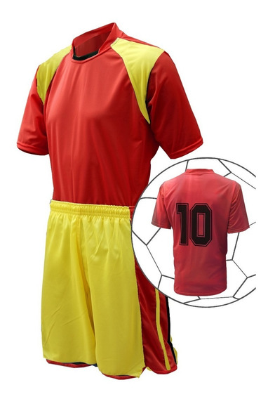 Fardamento De Futebol Uniforme Jogo 16 Camisas 16 Calção
