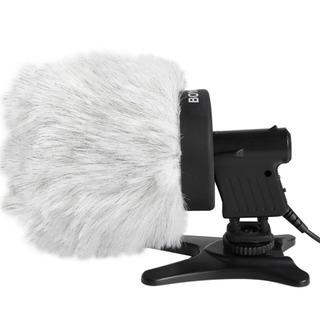 Microfono Boya By-p80 Peludo Muff Entrevista Exterior Para
