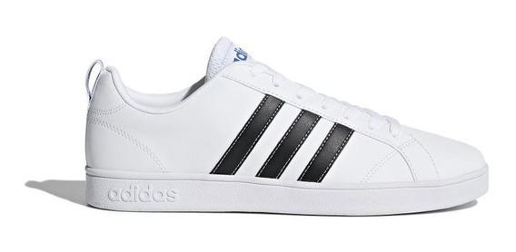 Tenis adidas Advantage Hombre Original Blanco/azul Nuevos Cl