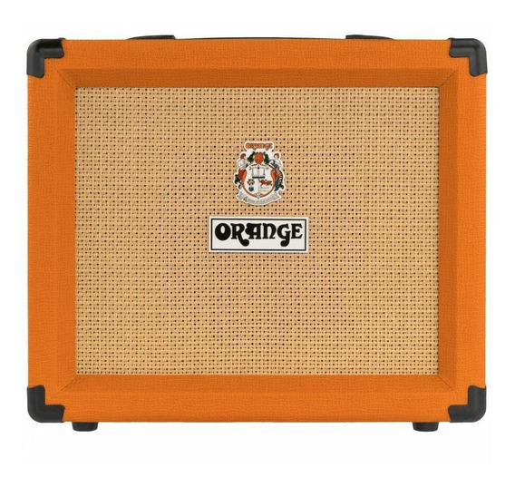 Amplificador Orange Crush Series 20RT 20W transistor laranja