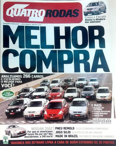 Revista 4 Rodas - Melhor Compra - No. 527 - Junho De 2004