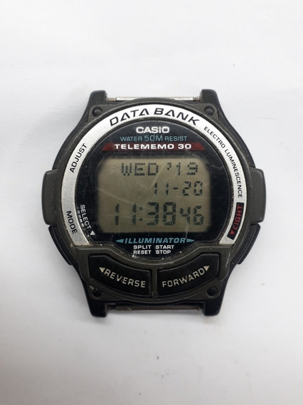Relógio Casio Data Bank Db-34h Funcionando
