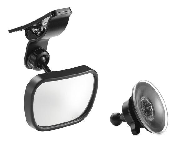 Espelho Retrovisor 2 Em 1 - Preto - Multikids Baby