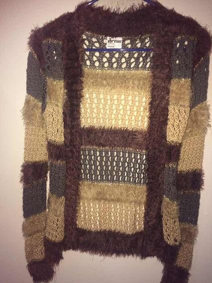 Precioso Sweater Multicolor Nuevo T-s