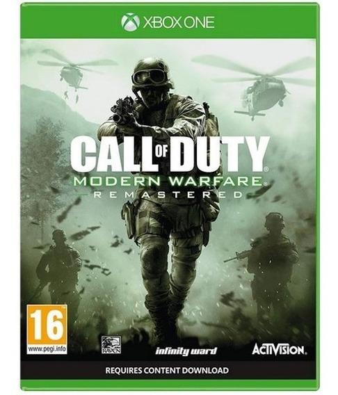 Call Of Duty Modern Warfare Remastered Xbox One Desconectado