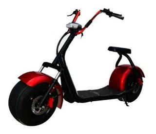 Moto Elétrica Pneu Largo E Freio A Disco 1000w - Mammut