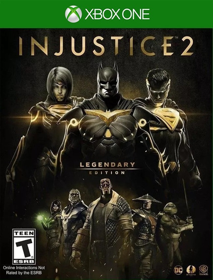 Injustice 2 Legendary Xbox One - 25 Digitos (envio Flash)