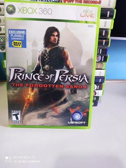 Jogo Prince Of Pérsia The Forgotten Sands Para Xbox360