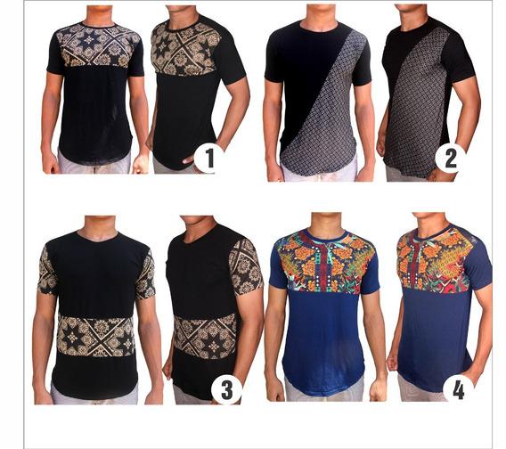 Kit 2 Camisas Longline Luxo Camiseta Premium Exclusivas