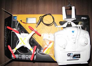 Cheerson Cx30w Rc Quadcopter Drone Con Camara App Wifi Contr