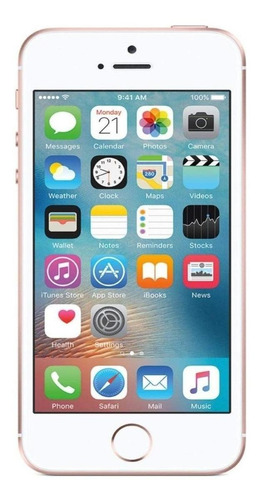 iPhone SE 32 GB ouro rosa
