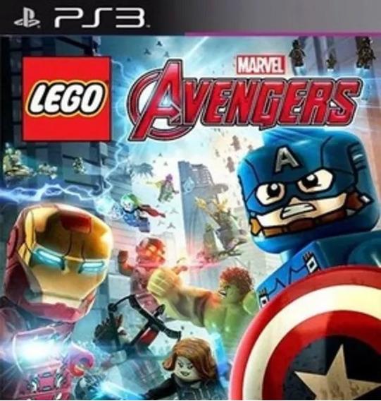Lego Avengers Ps3 Jogo Psn Português Envio Rápido