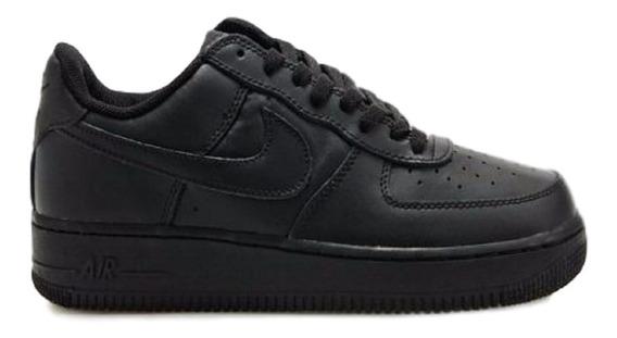zapatillas nike air force negras hombre