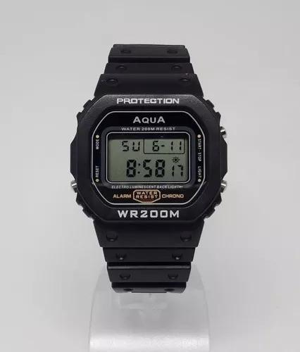 Relógio Masculino Aqua Original Waterproof * Prova D