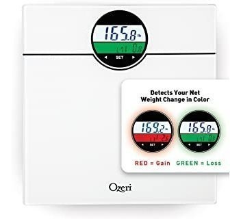 Báscula Digital De Baño Ozeri Zb21-w Weightmaster De 400 L